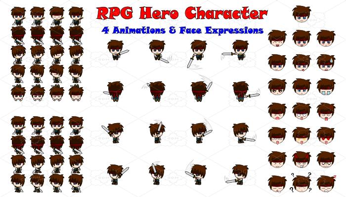 RPG Hero Character 2