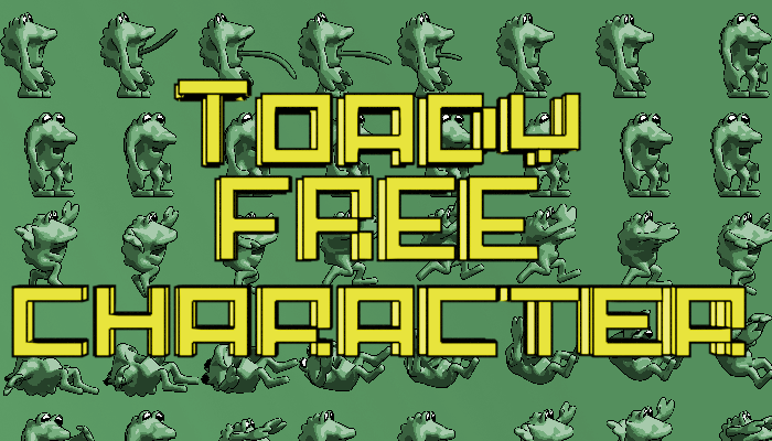 Toady – Animated Monster – FREE