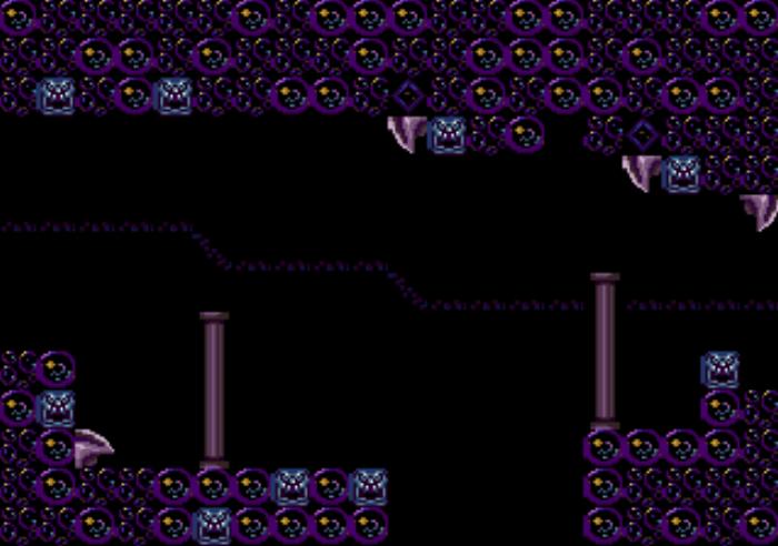 Metroidvania enviroment tiles