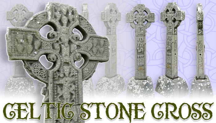 Celtic Stone Cross
