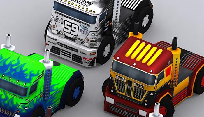 3DRT – Road Rush – Heavy Trucks