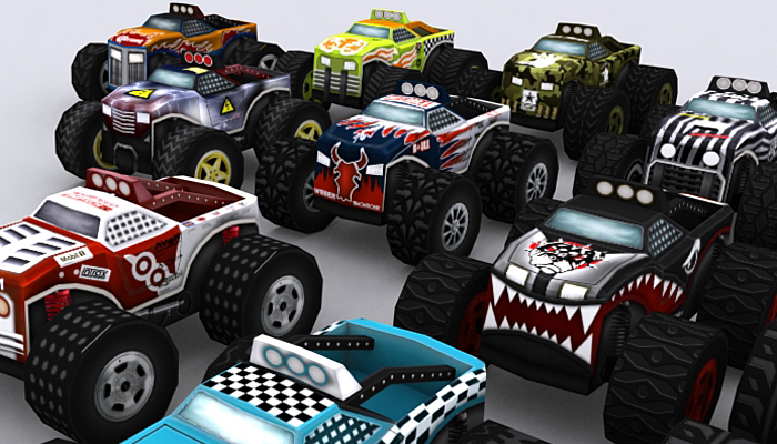 3DRT – Road Rush – Monster Trucks