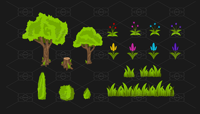 Nature Vegetation Pack