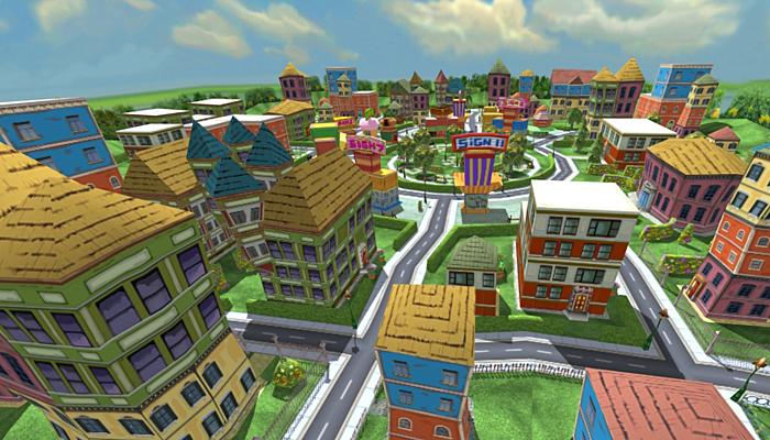 3DRT – Toonworlds Downtown