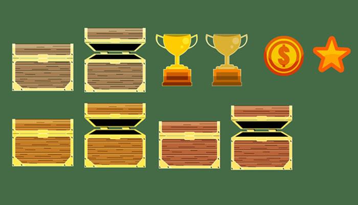 Reward objects.