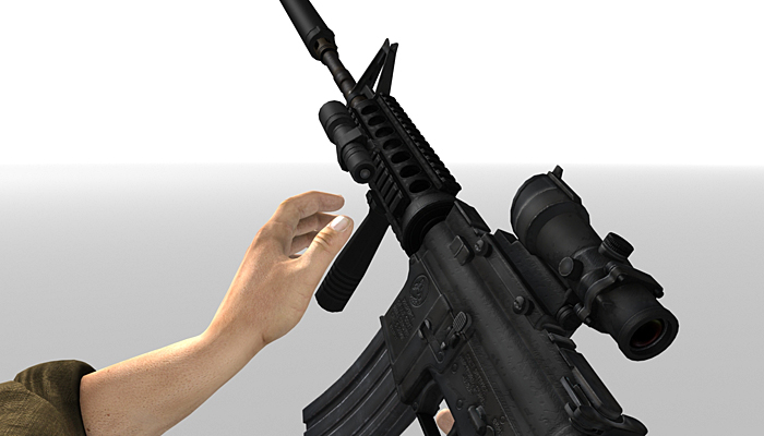 3DRT – Modern Firearms Animated Collection Vol.3 HD