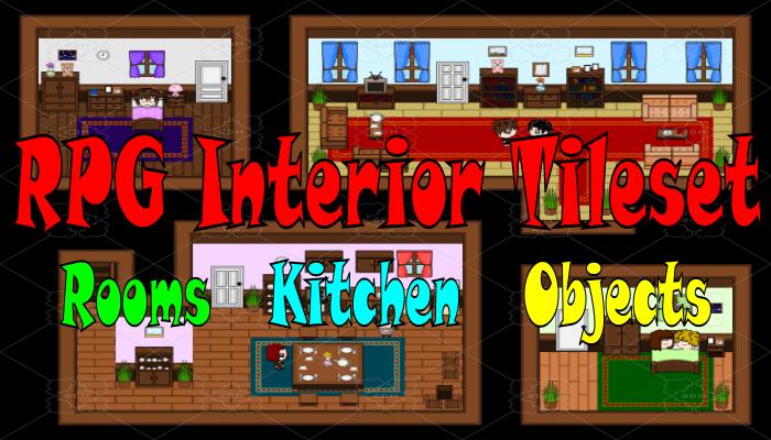 RPG Interior Tileset