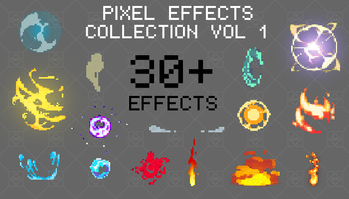 Pixel Effects Collection Vol 1