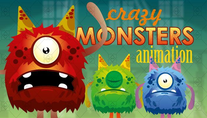 Crazy Monsters Animation