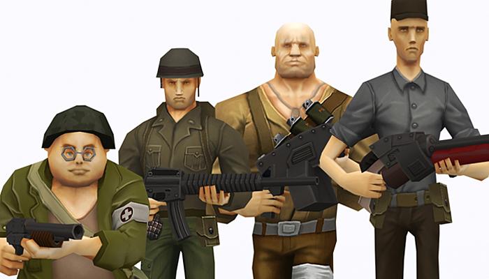 3DRT – Brutal Army Squad