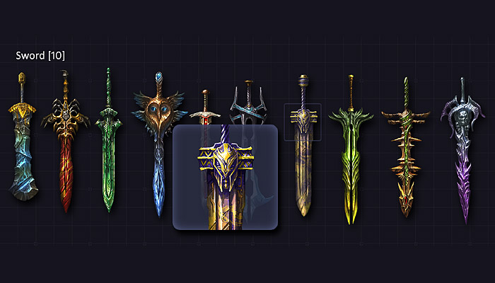 Swords – Blades Collection