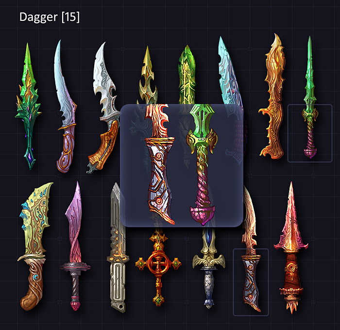 Daggers – Blades Collection