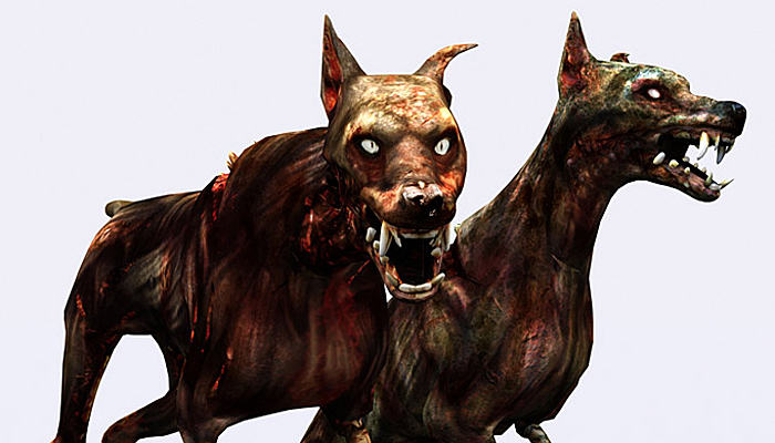 3DRT – Zombie Dogs