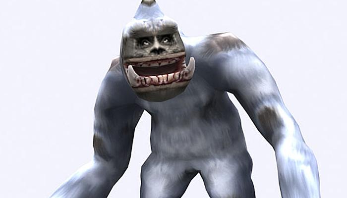 3DRT – Yeti Monster