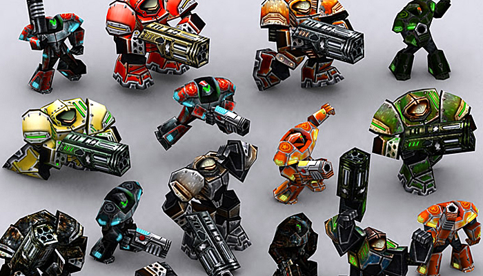 3DRT – Warbots Micromarines
