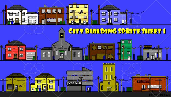 Houses / City Building Set