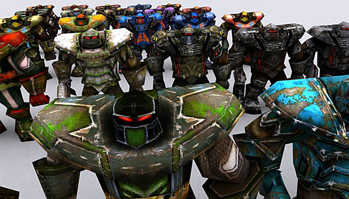 3DRT – Warbots Brutes