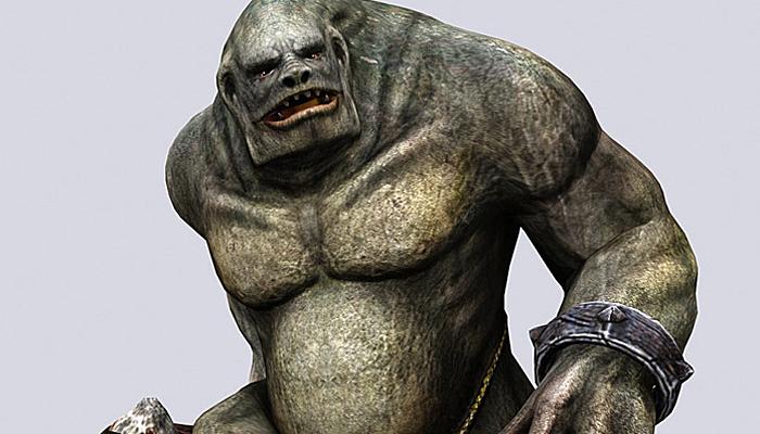 3DRT – Troll Golem