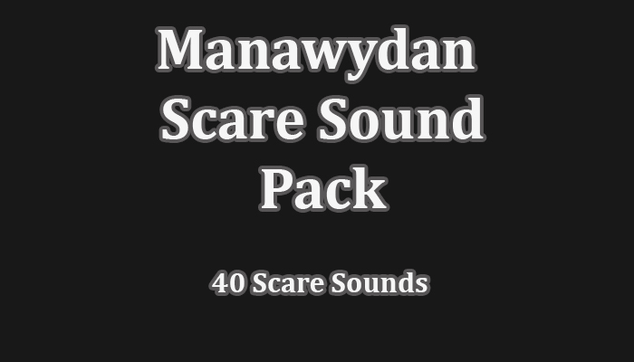 Manawydan Scare Sound Pack