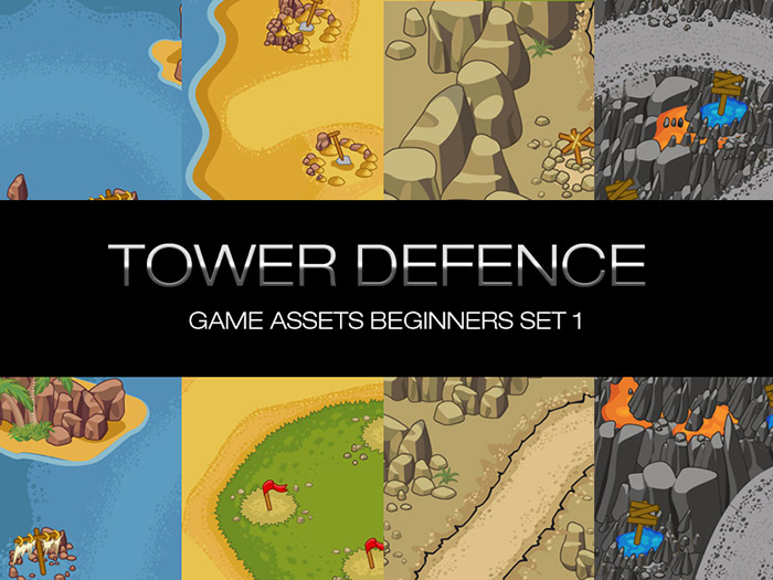 Tower Defence Objects Pack