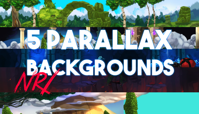 5 PARALLAX BACKGROUNDS nr1