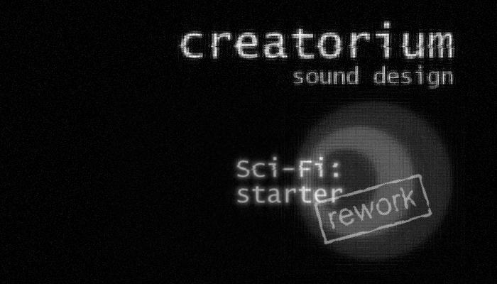 Creatorium soundbanks – Sci-fi: starter 'rework'