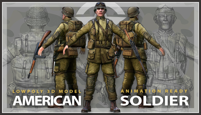WWII American Soldier