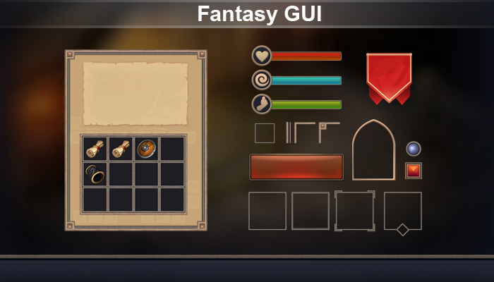 Fantasy GUI