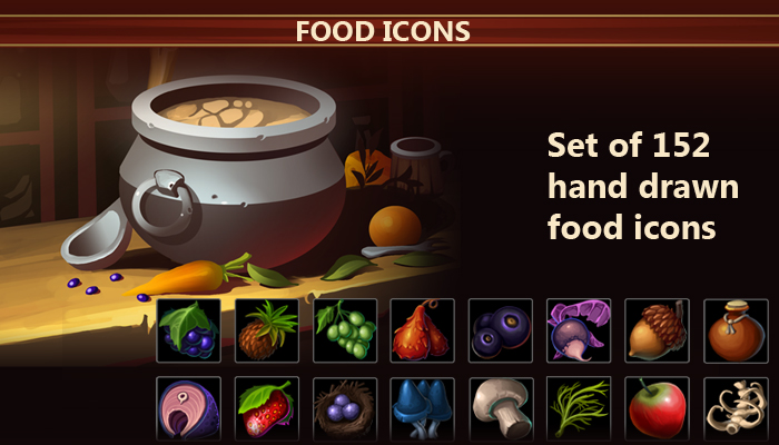 Food Icon Pack