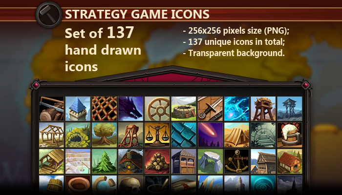 Strategy Game Icons
