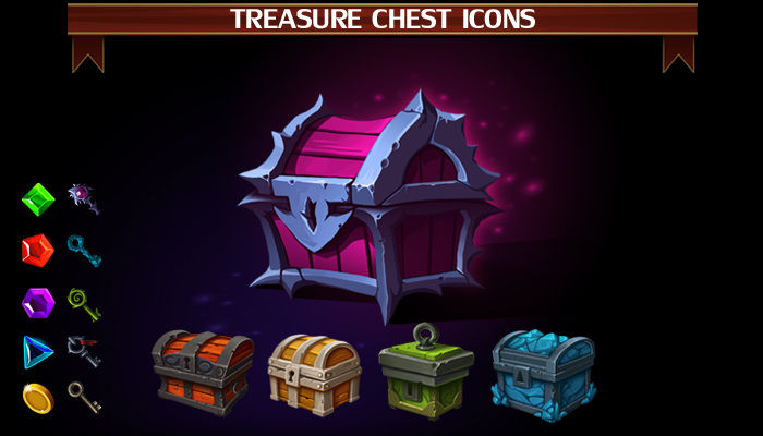 Treasure Chest Icons