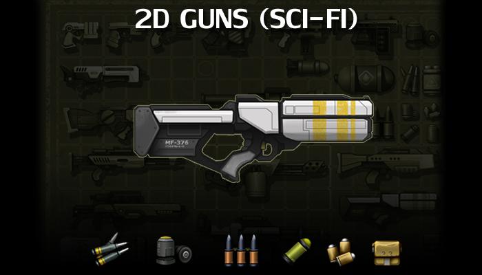 Sci-Fi Guns Set