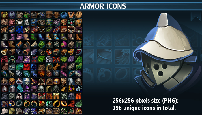 Armor Icon Pack