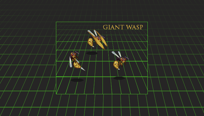 Sideview Battler: Giant Wasp