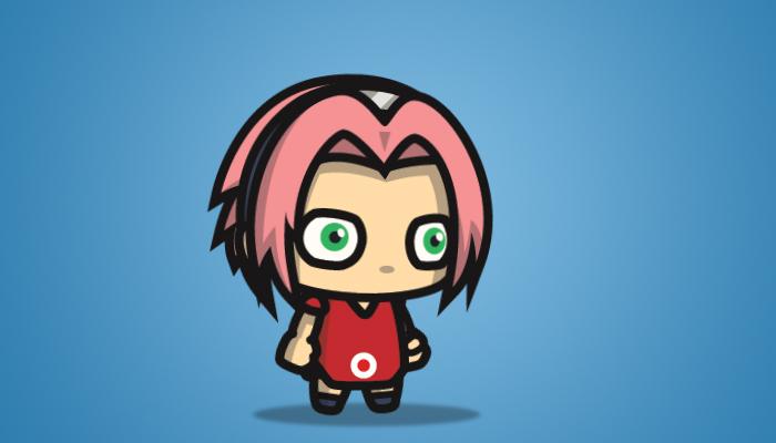 Pinky Hair Shinobi