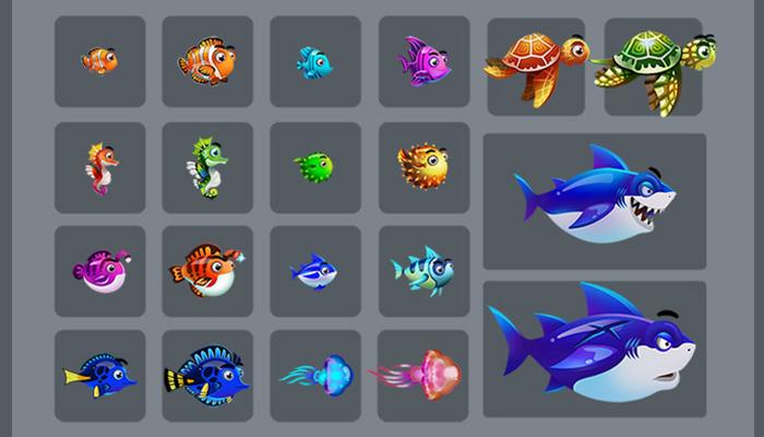 Character 2D Fish