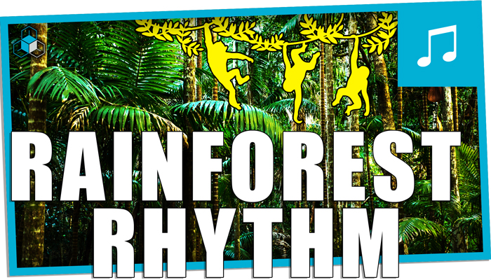Jungle Percussion and Flute
