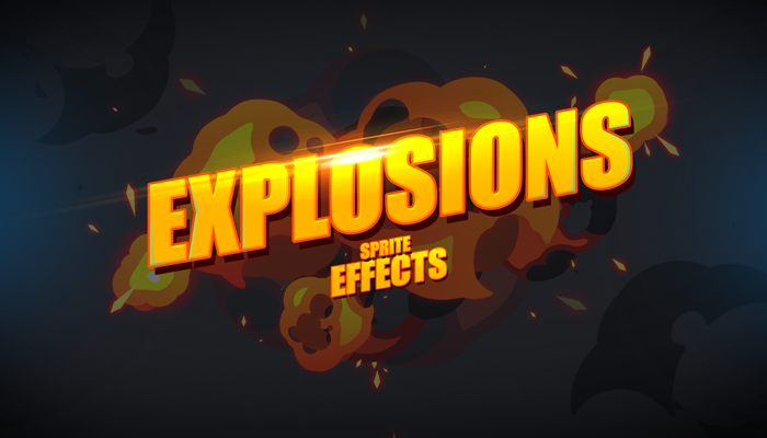 Explosions sprite effects pack
