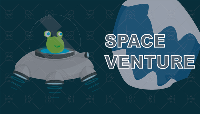 Space Venture – Blobby Alien