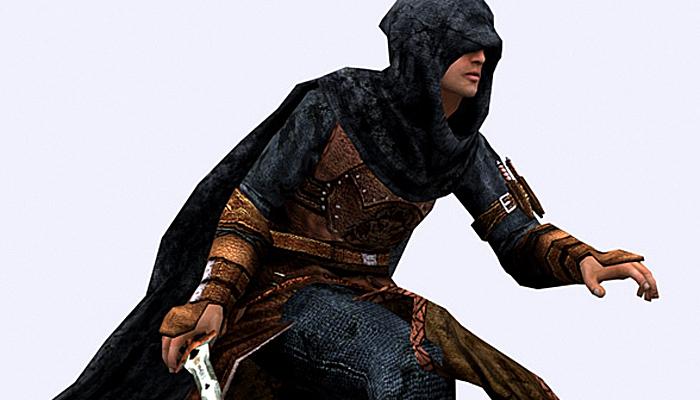 3DRT – Thief Character