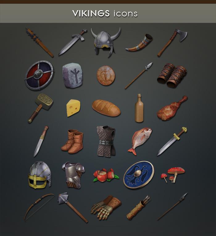 Viking Items Gamedev Market