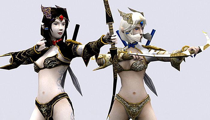 3DRT – Soulblade Elf Rangers