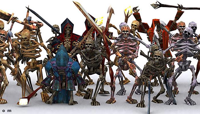 3DRT – Skeletons Swarm