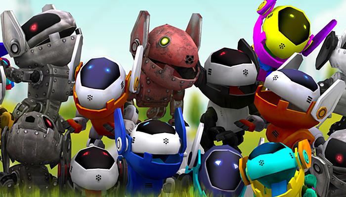 3DRT – Robopuppies