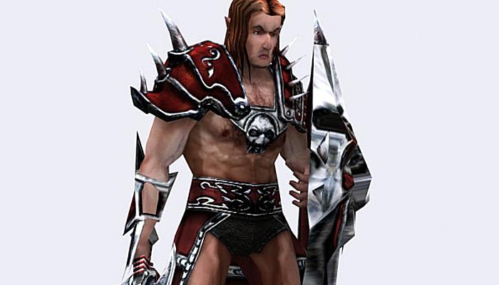 3DRT – Fantasy Warrior