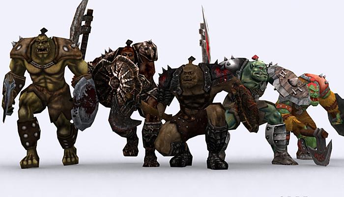 3DRT – Orcs Pack