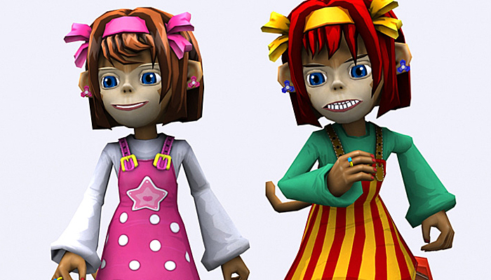 3DRT – Monkeygirl Chii