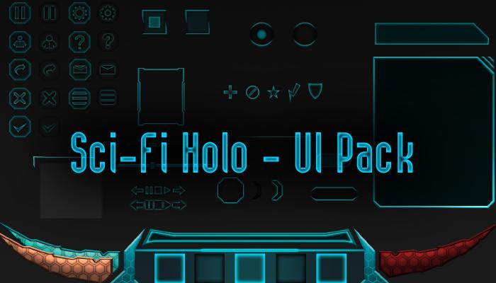 Sci-Fi Holo – UI Pack