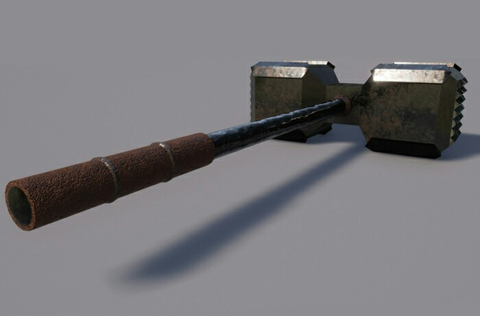 JD – Great Hammer with PBR Textures