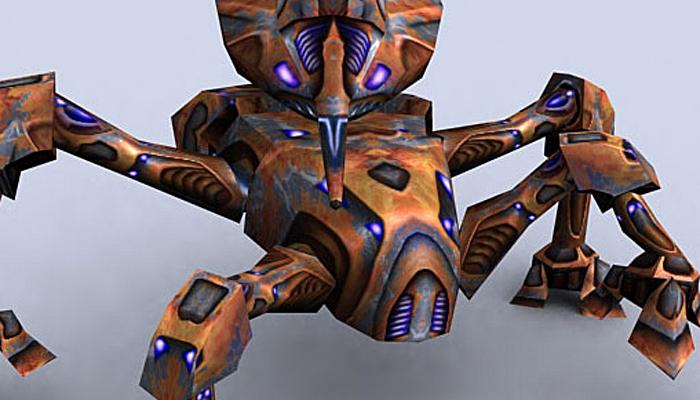 3DRT – Mech Crawler